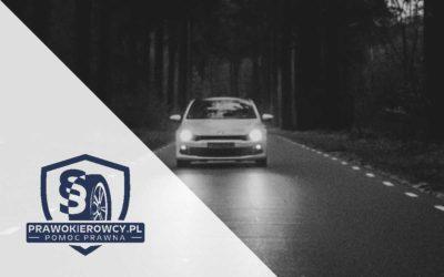 Kiedy można stracić prawo jazdy? Część 1 – sądowy zakaz prowadzenia pojazdów.